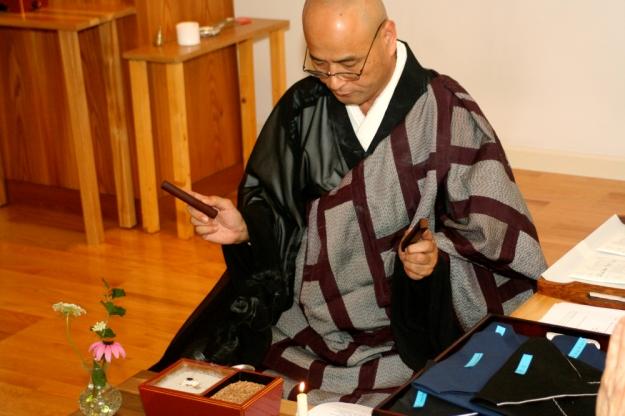 Shohaku Okumura Roshi, Jukai Ceremony, July 2010