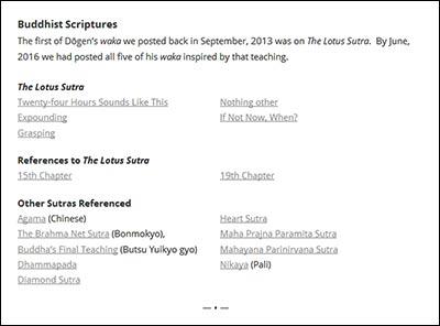 Waka study page